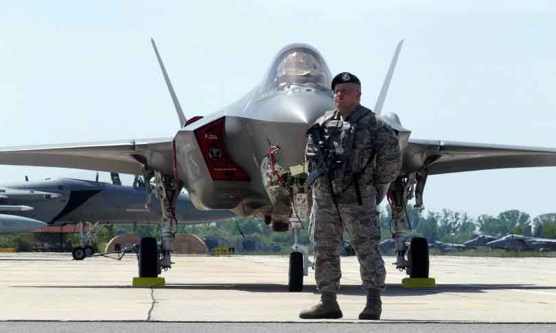 5th-Generation Fighters Arrive in Bulgaria