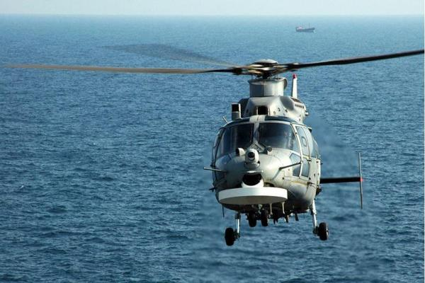 Bulgarian naval helicopter