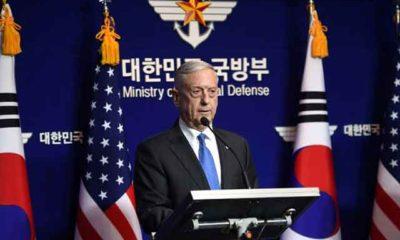 Mattis warns 'massive' response to North Korea nuclear weapon use