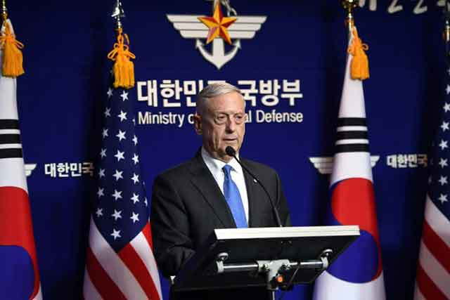 Mattis-warns-'massive'-response-to-North-Korea-nuclear-weapon-use