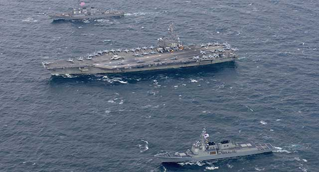 N Korea Threatens US With 'Unimaginable Strike' Over Naval Drills With S Korea
