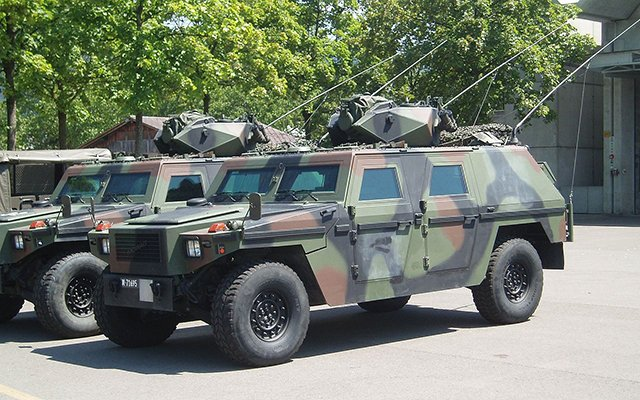 Vehicle maker buys two German armour producers