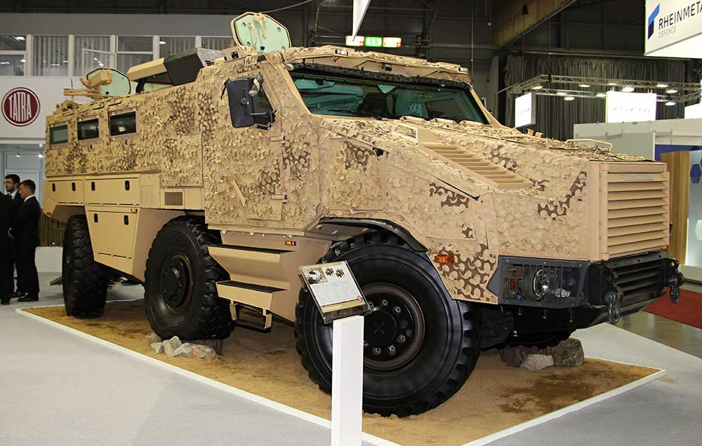 France selects Nexter for light multirole vehicle