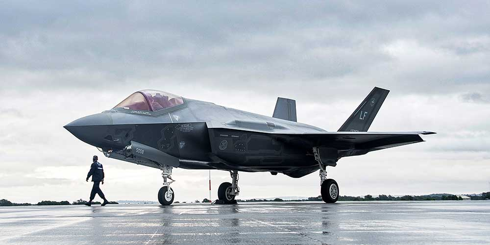 A Large Air Force Drills Including F 35 Fighters Will Be