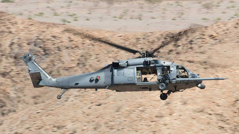 A U.S. HH-60 Pave Hawk Helicopter Has Crashed in Iraq