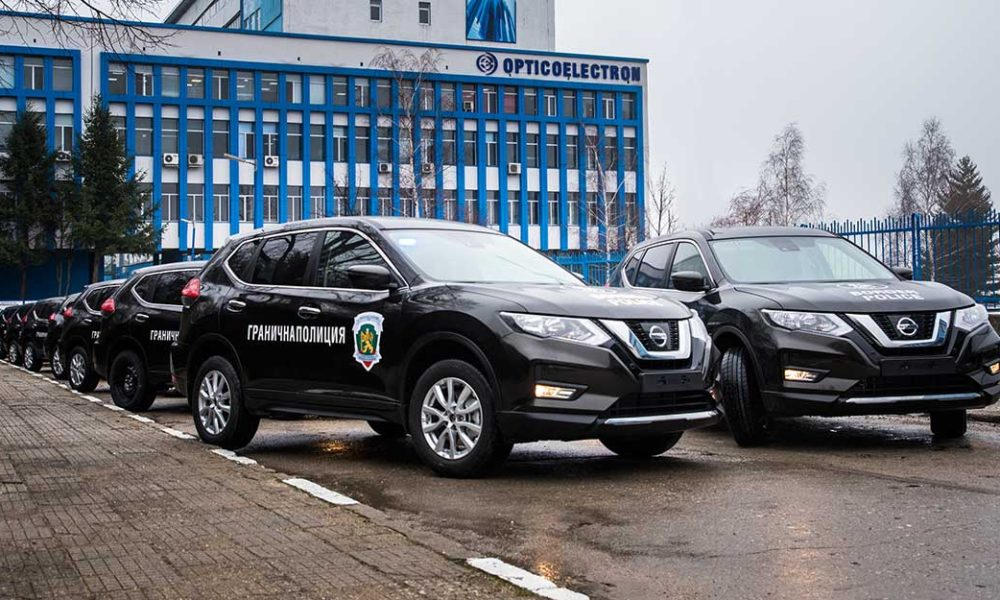 Opticoelectron Equipped the New Automobiles of the Border Police