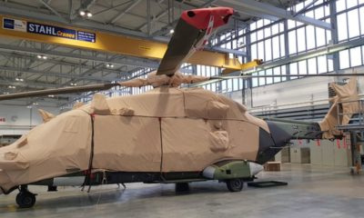 Environmental Protective Covers for the German NH90s