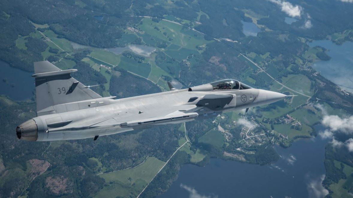 Gripen E/F Will Be Offered With AEL Wide Area Display