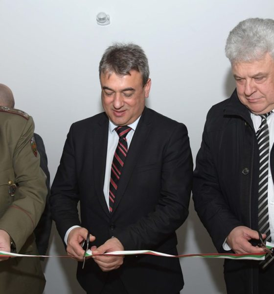 OPTIX Became the Main Sponsor of the Newest Cabinet at the Bulgarian Defence Institute