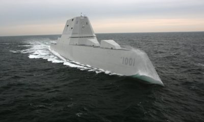 Second Stealth Destroyer Goes to the US Navy