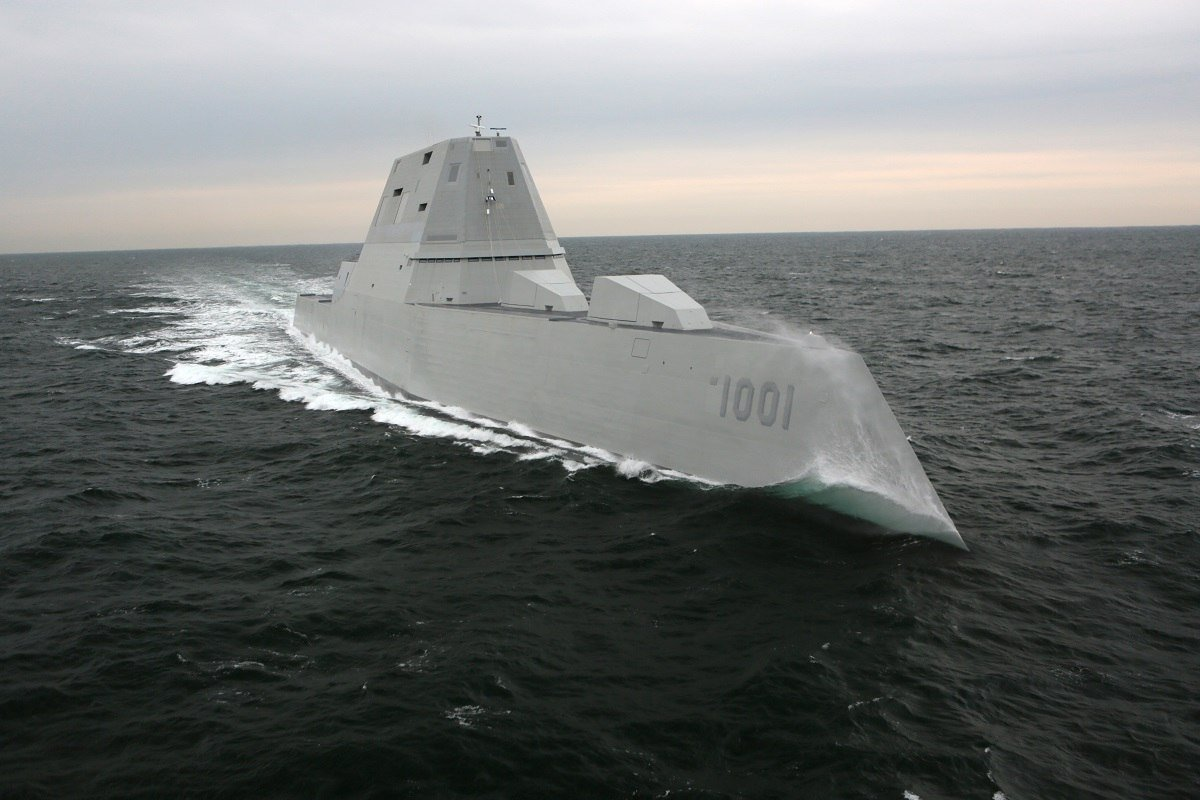 Second-Stealth-Destroyer-Goes-to-the-US-Navy