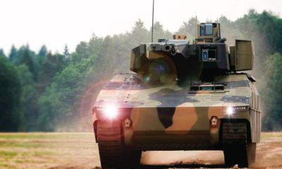 Rheinmetall Offers Its Armoured Vehicles Lynx to the Czech Army