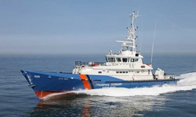 A Class of Patrol Vessels Presented for the First Time by a Bulgarian Shipyard