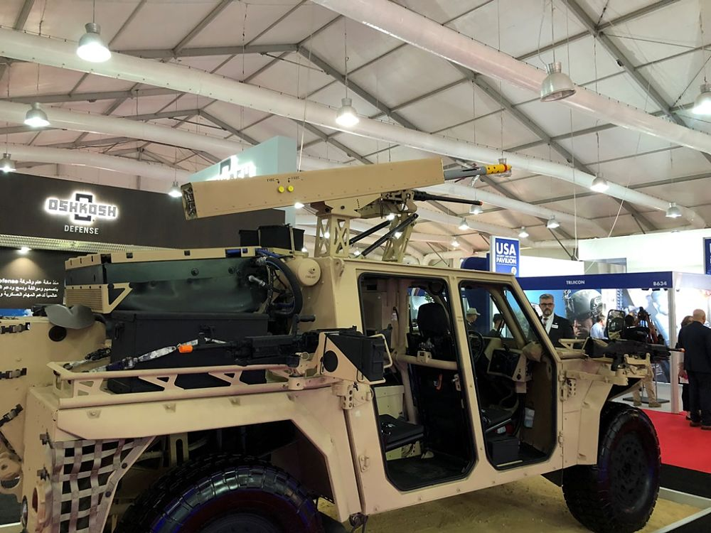 "Arnold Defense Presents Its New ""FLETCHER"" Concept at SOFEX"