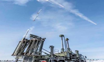 First Successful Tests for the British Army's Land Ceptor