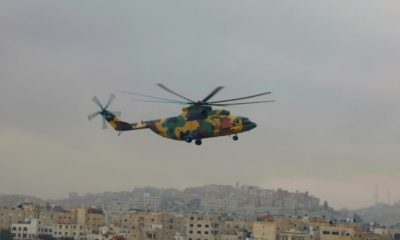 Jordan Shows its Russian-Made Mil Mi-26T2 Helicopter at SOFEX