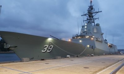 Navantia Australia and BAE Systems Join Forces to Maintain AWDs