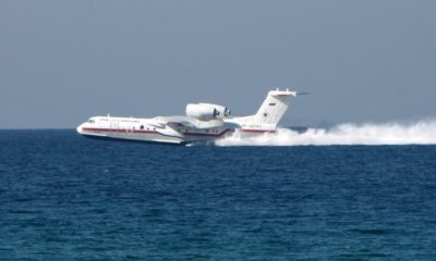 Safran and UEC-Saturn Agreed to Re-Engine the Be-200 Amphibious Aircraft