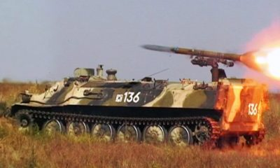 Shturm-S Systems Supplied to the Western Military District of Russia