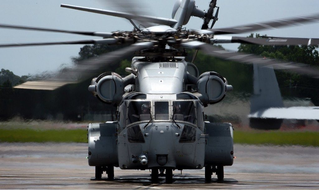 The U.S. Marine Corps Accepted the Delivery of its First CH-53K
