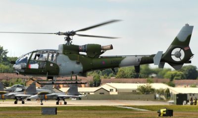 The UK Gazelle Helicopters Will Be in Service At Least Until 2022