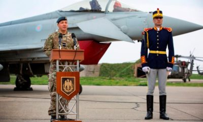 UK RAF Typhoons Accredited for Missions over the Black Sea