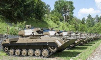 21 BMP-2 Fighting Vehicles Upgraded for the Slovak Armed Forces