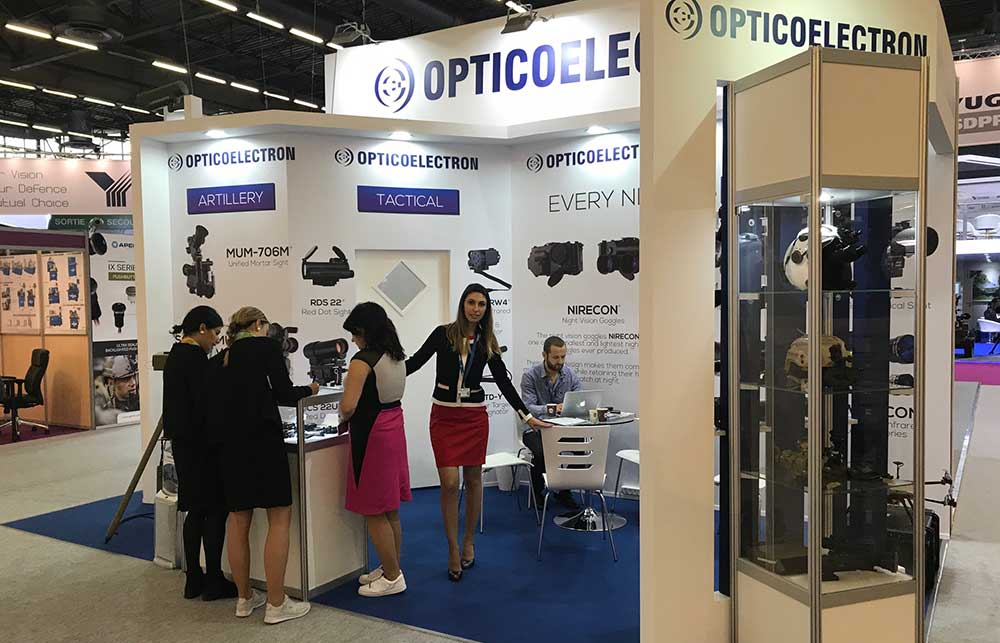 Opticoelectron Reported More Than Successful Eurosatory 2018 Exhibition