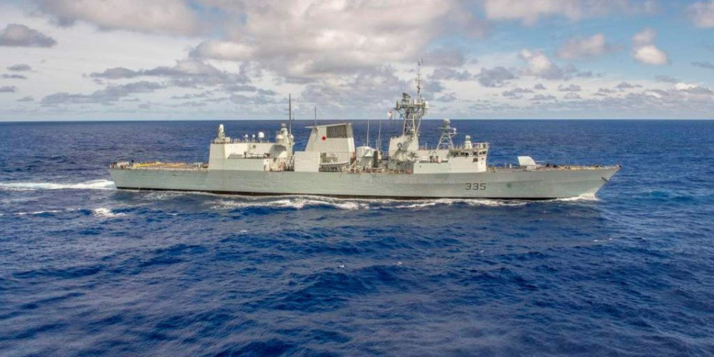 Halifax-Class Frigates Will be Supported by Lockheed for Another 3 Years