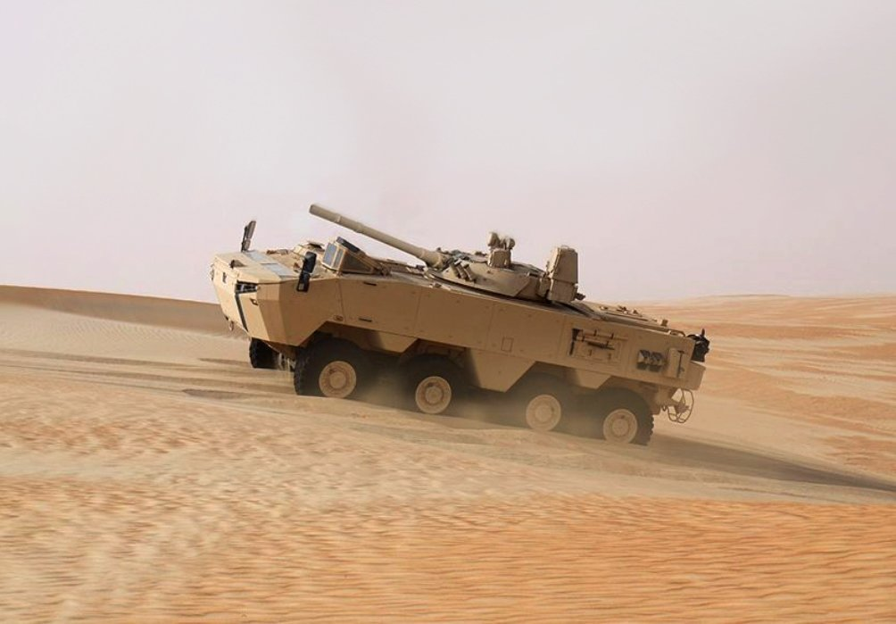 The Armed Forces of UAE Are Expecting Its First Rabdan
