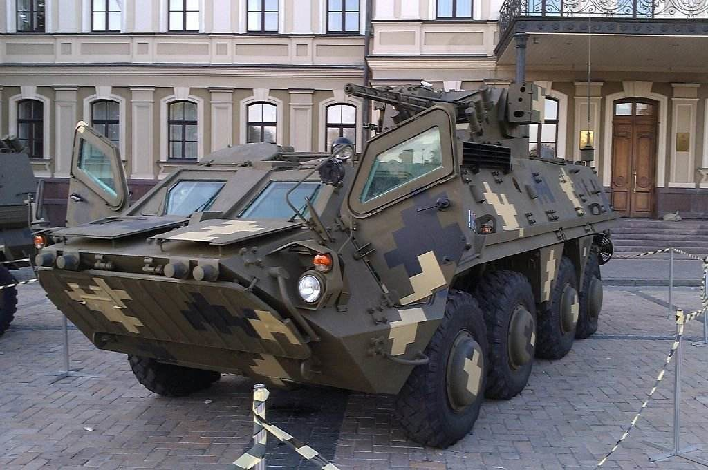 The Ukranian Malyshev Factory Starts BTR-4E Hulls Production Line