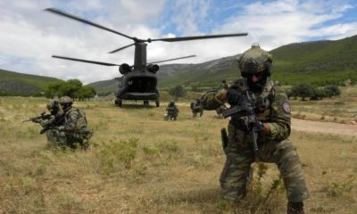 Greece Welcomed Service Members from the 68th Special Forces Brigade of Bulgaria for Joint Training