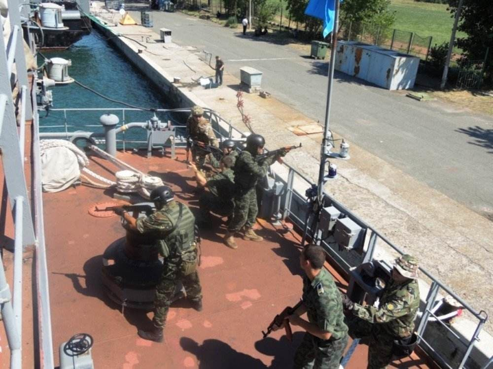 The Bulgarian Naval Exercise BREEZE 2018 is Ongoing
