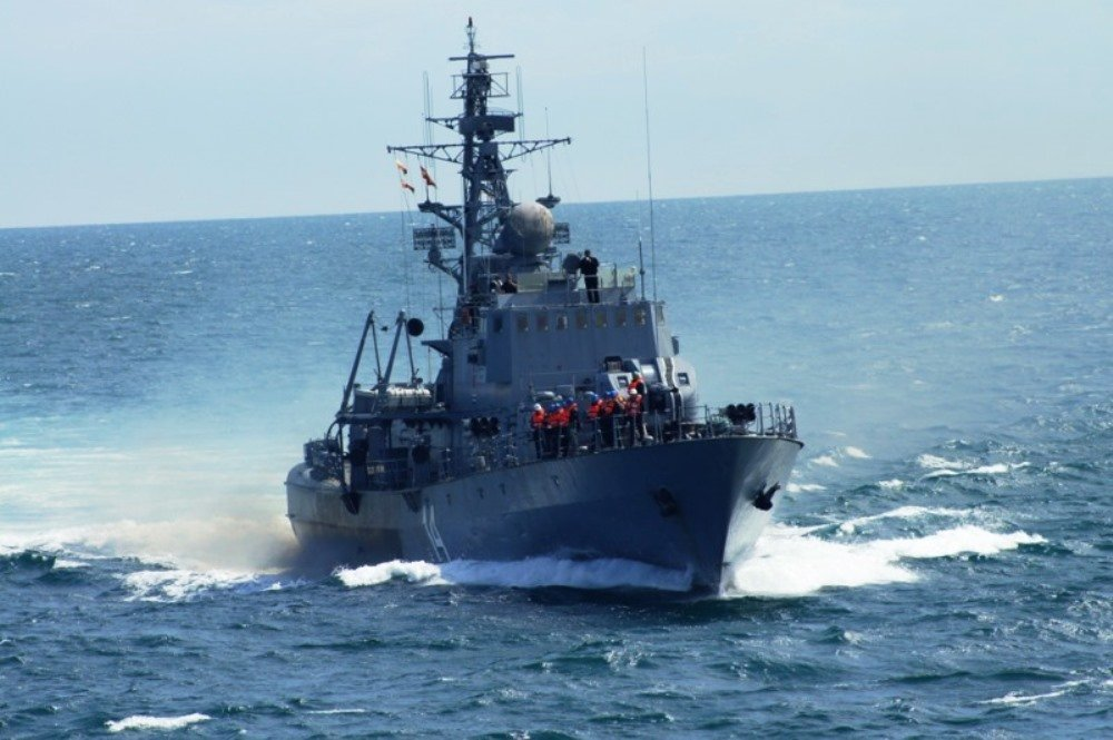 The Bulgarian Navy Corvette Bodri Is Participating in Sea Breeze 2018