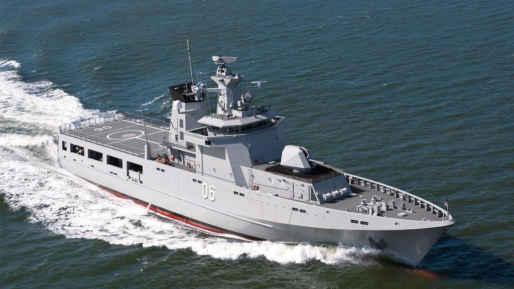 12 Australian Offshore Patrol Vessels Will be Equipped with Terma's SCANTER 6002