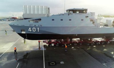 Austal Starts Sea Trials of the First Guardian-class Pacific Patrol Boat