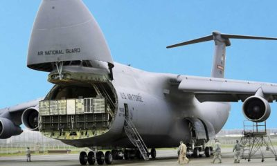 Lockheed Martin's Last Upgraded C-5 Delivered to US Air Force