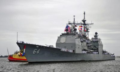 BAE Systems Receives a $146.3 Million Contract to Modernize USS Gettysburg