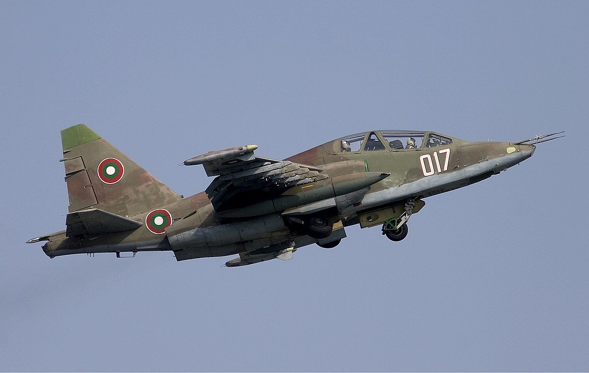 BGN 41 Million Planned by the Bulgarian Ministry of Defence for Repairs of its Su-25