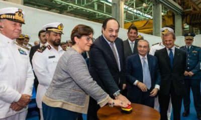 Fincantieri Starts Building the First of the Doha Class Corvettes Ordered by Qatar