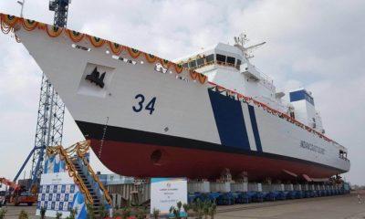 Larsen & Toubro Delivers the OPV-2 ICGS Vijaya to the Indian Coast Guard