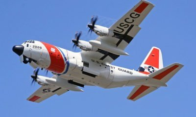 The Coast Guard Air Station Kodiak Received an HC-130J Super Hercules Aircraft