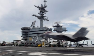 The F-35C Has Been Tested Aboard USS Abraham Lincoln by the US Navy