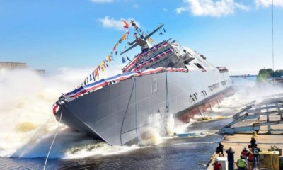 The US Navy Received Littoral Combat Ships 11 (Sioux City) and 13 (Wichita)