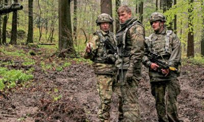 Bulgarian Servicemen in Blue Bridge and Saber Junction 2018 Exercises