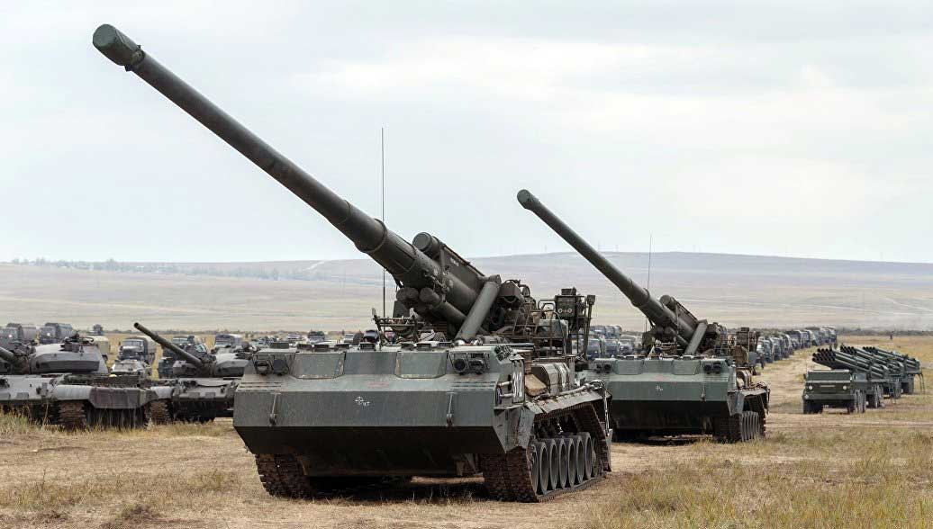 "Russia Will Modernize its Artillery Weapons ""Pion"" and ""Tulpan"""