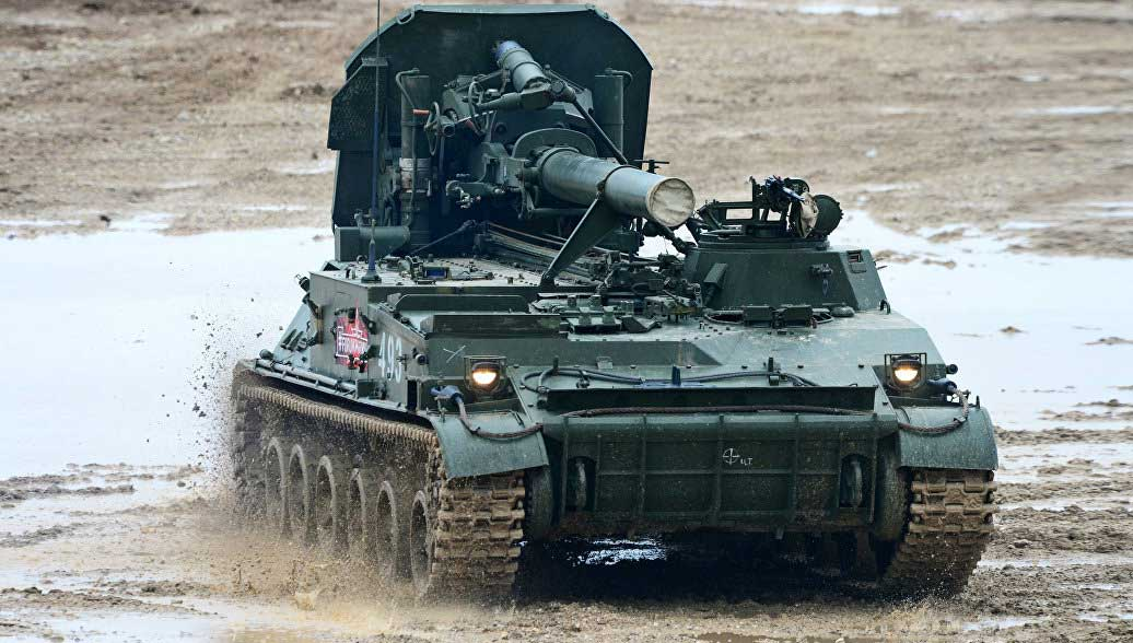 """Russia Will Modernize its Artillery Weapons """"Pion"""" and """"Tulpan"""""""
