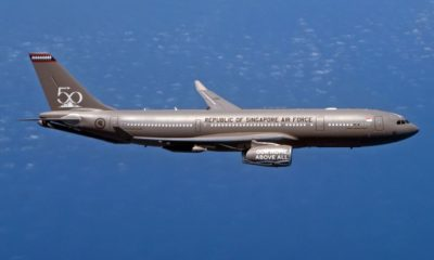 Airbus Delivers the First A330 Multi Role Tanker Transport to Singapore