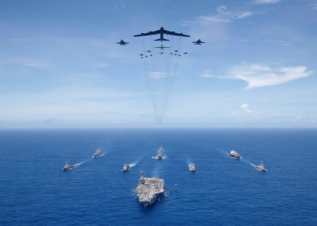 The US Exercise Valiant Shield 2018 Is Successfully Completed