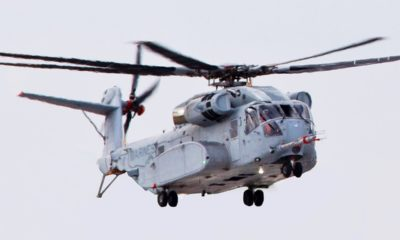 TPG Will Provide Crew Protection Kit for the New Marine Corps CH-53K